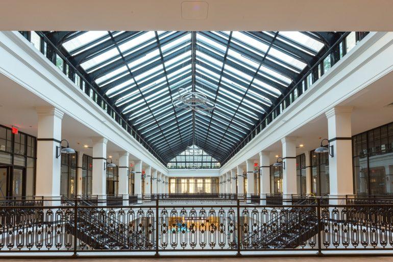 Interior of Hahne & Co. Building in Newark, NJ