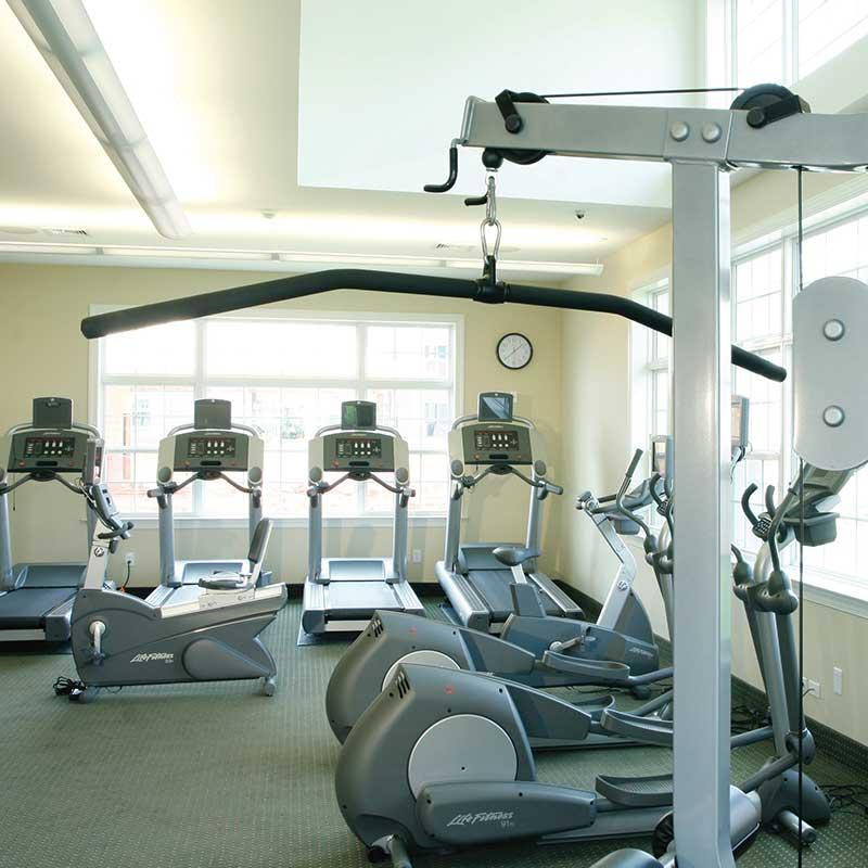 Trexler Park fitness center