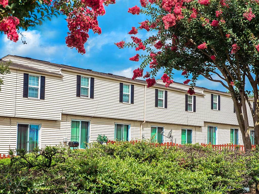 Photo of Hopkins Point apartment exteriors