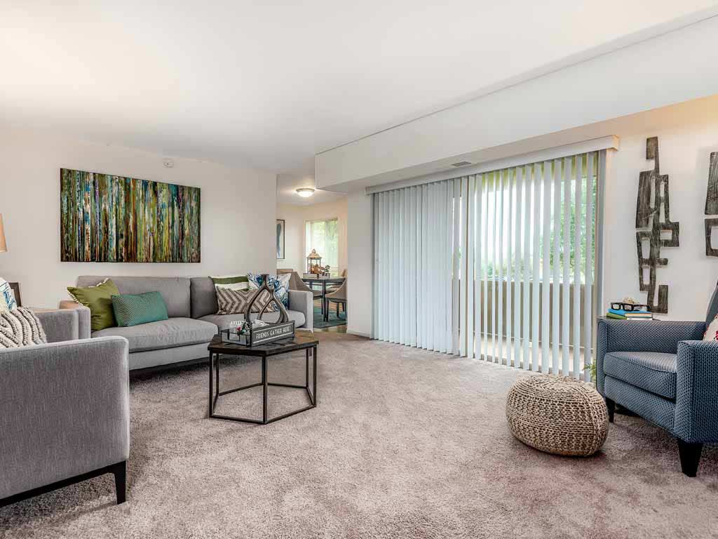 Interior living room at Stonebridge by OneWall