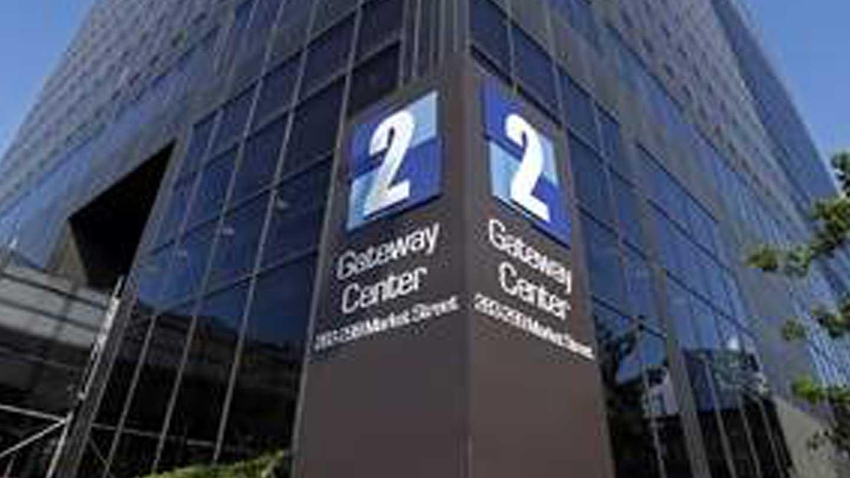 Exterior of 2 Gateway Center building