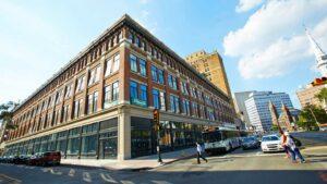 Building in Newark NJ's Central Ward