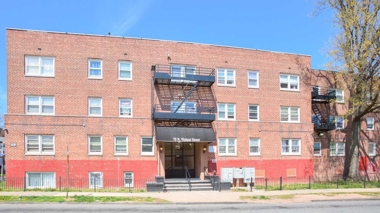 Exterior of 75 N. Walnut Street in East Orange, NJ
